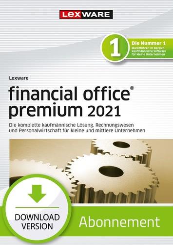 Verpackung von Lexware financial office premium 2021 - Abo Version [PC-Software]