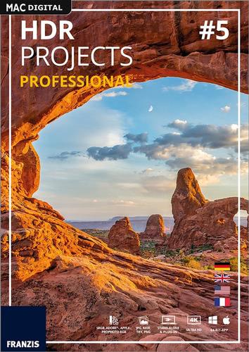 Verpackung von Franzis HDR projects 5 professional für Mac [Mac-Software]