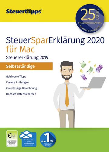 Verpackung von SteuerSparErklärung Selbstständige 2020 Mac [Mac-Software]
