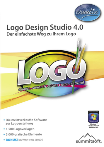Verpackung von Creetix Logo Design Studio 4.0 [PC-Software]
