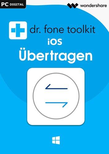 Verpackung von Wondershare Dr. Fone Übertragen (Transfer) iOS 5 Geräte 1 Jahr Laufzeit [PC-Software]