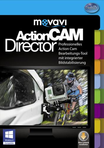 Verpackung von ActionCAM Director [PC-Software]