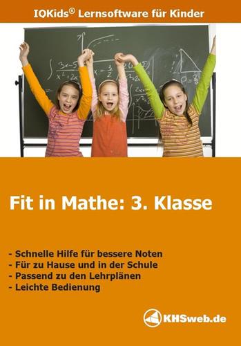 Verpackung von Fit in Mathe: Lernprogramm 3. Klasse [PC-Software]