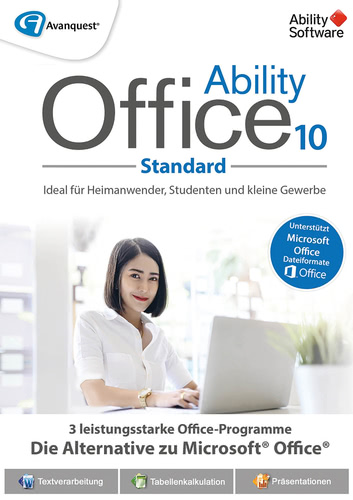 Verpackung von Ability Office 10 [PC-Software]