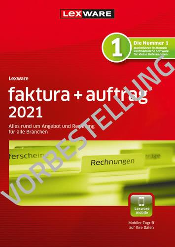 Verpackung von Lexware faktura + auftrag 2022 - Jahresversion (365 Tage) - Vorbestellung [PC-Software]