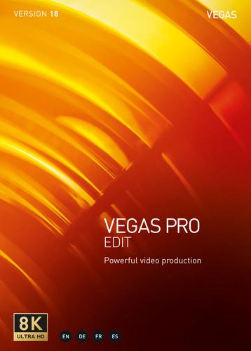 Verpackung von Vegas Pro 18 Edit [PC-Software]
