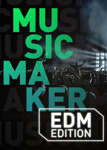 Verpackung von Music Maker 2020 EDM Edition [PC-Software]