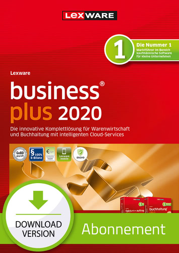 Lexware business plus 2020 – Abo-Version (Download), PC