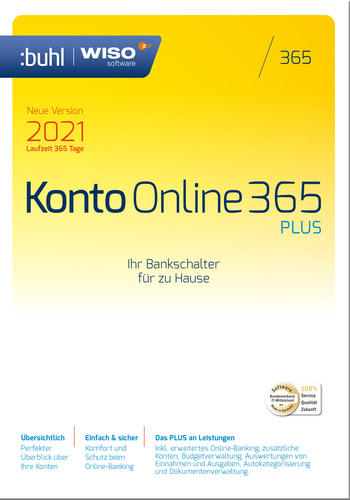 WISO Konto Online 365 Plus (Version 2021) (Download), PC