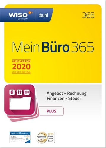 Verpackung von WISO Mein Büro 365 Plus (2020) [PC-Software]