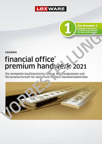 Verpackung von Lexware financial office premium handwerk 2022 - Jahresversion (365 Tage) - Vorbestellung [PC-Software]