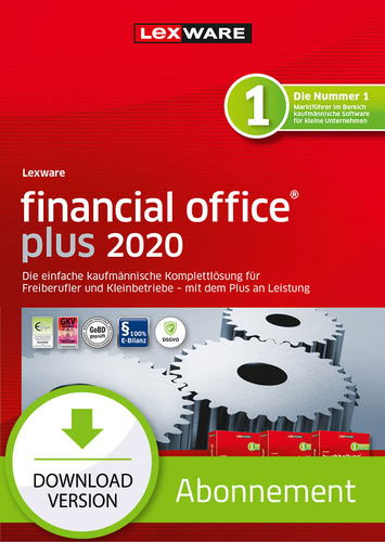 Lexware financial office 2020 plus – Abo-Version (Download), PC