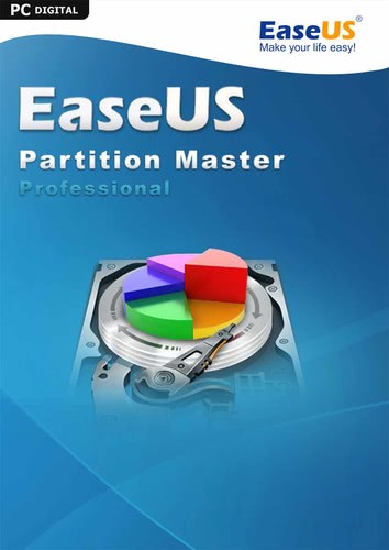 Verpackung von EaseUS Partition Master PRO 15.0 - Free Lifetime Upgrade [PC-Software]