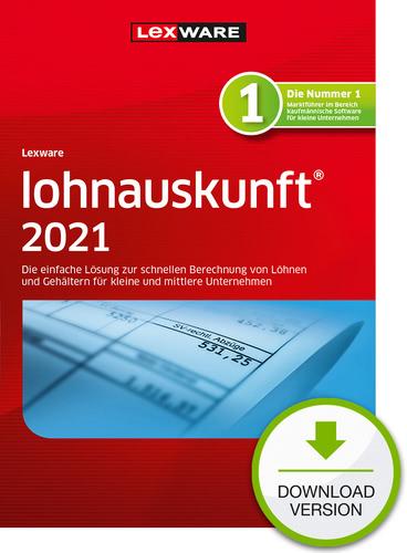 Verpackung von Lexware lohnauskunft 2021 - Jahresversion (365 Tage)  [PC-Software]