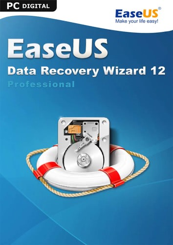 Verpackung von EaseUS Data Recovery Wizard PRO 12.8 [PC-Software]