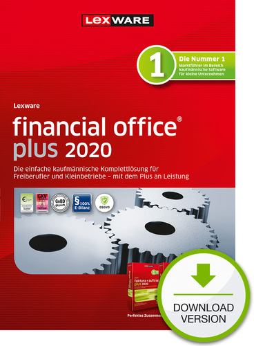 Verpackung von Lexware financial office plus 2020 Testversion [PC-Software]