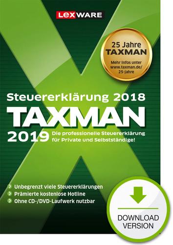 Verpackung von TAXMAN 2019 [PC-Software]