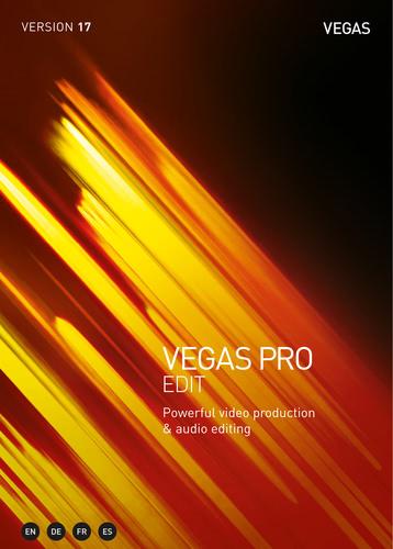 Verpackung von Vegas Pro 17 Edit [PC-Software]