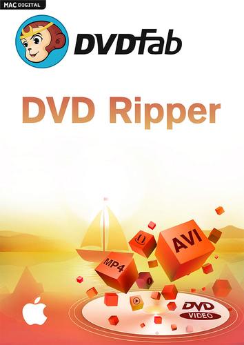 Verpackung von DVDFab DVD Ripper für Mac (24 Monate) [Mac-Software]