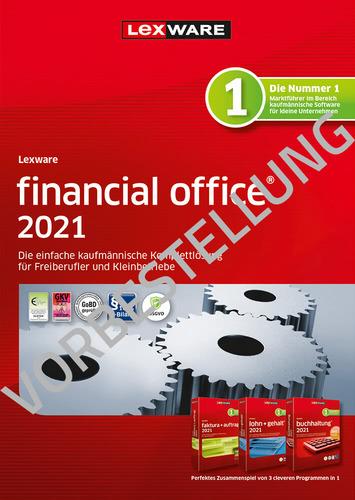 Verpackung von Lexware financial office 2022 - Jahresversion (365 Tage) - Vorbestellung [PC-Software]