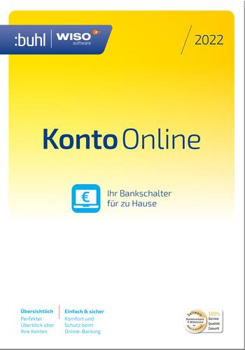 Verpackung von WISO Konto Online 2022 [PC-Software]