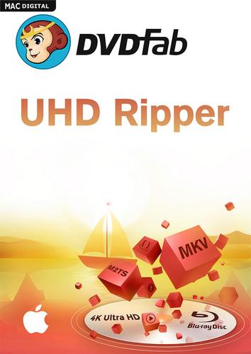 Verpackung von DVDFab UHD Ripper für Mac (24 Monate) [Mac-Software]