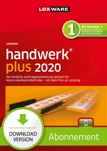 Lexware handwerk 2020 plus – Abo-Version (Download), PC