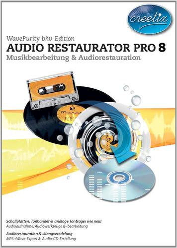 Verpackung von Audio Restaurator Pro 8 [PC-Software]