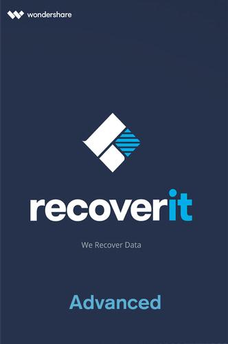 Verpackung von Wondershare Recoverit Advanced [PC-Software]