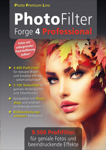 Verpackung von Photo Filter Forge 4 Professional [PC-Software]