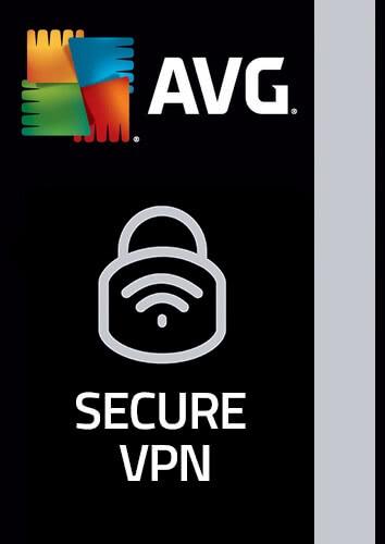 Verpackung von AVG Secure VPN (5 Geräte / 1 Jahr) [PC-Software]