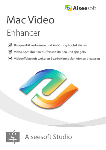 Verpackung von Aiseesoft Video Enhancer Mac - Lebenslange Lizenz [Mac-Software]