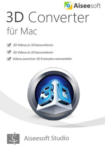Verpackung von Aiseesoft 3D Converter für Mac [Mac-Software]