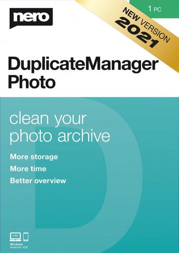Verpackung von Nero DuplicateManager Photo 2021 – 1 PC [PC-Software]