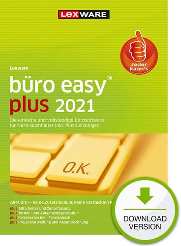 Lexware büro easy 2021 plus – Jahresversion (365 Tage) (Download), PC