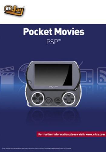Verpackung von eJay Pocket Movies für PSP [PC-Software]
