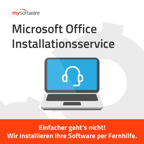 Verpackung von Microsoft Office Installationsservice [MULTIPLATFORM]