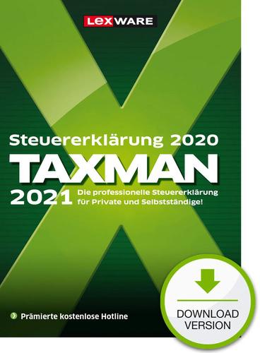 Taxman 2021 (für Steuerjahr 2020) (Download), PC