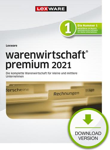 Verpackung von Lexware warenwirtschaft premium 2021 Testversion [PC-Software]