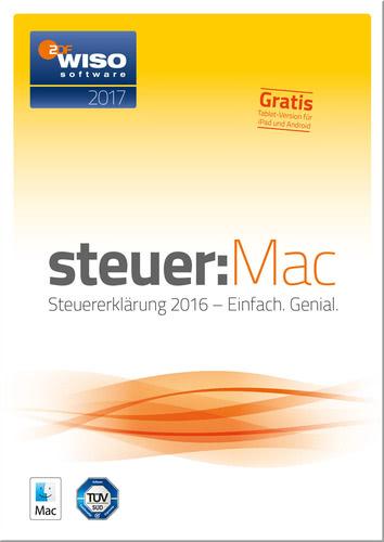 WISO steuer:Mac 2017 Mac (für Steuerjahr 2016) (Download), MAC