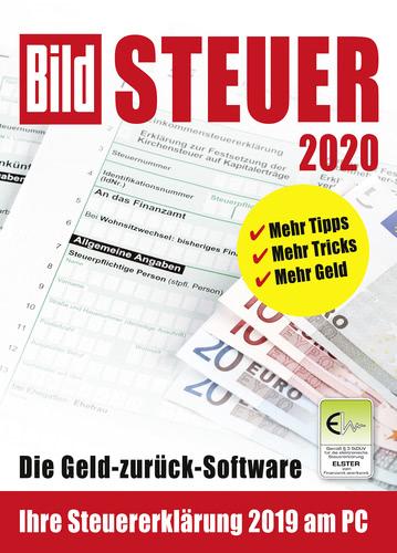 Verpackung von BILD Steuer 2020 (für Steuerjahr 2019) [PC-Software]