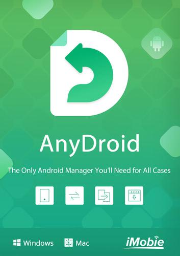 Verpackung von iMobie AnyDroid (Android) für MAC - lebenslange Lizenz [Mac-Software]