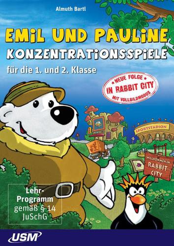 Verpackung von Emil und Pauline in Rabbit City [PC-Software]