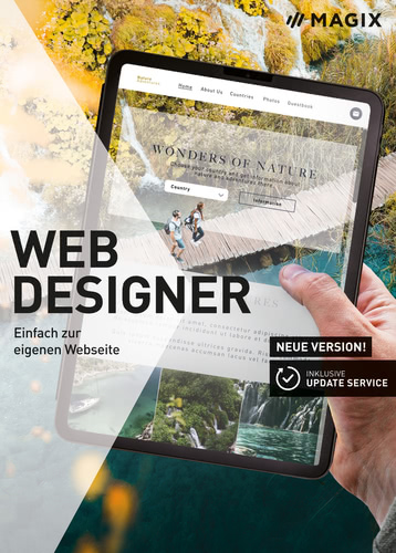 Verpackung von Magix Web Designer (17) [PC-Software]