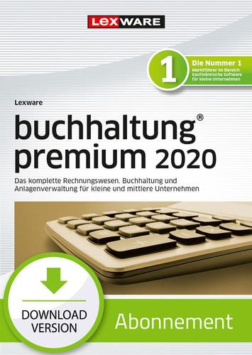 Verpackung von Lexware buchhaltung 2020 premium - Abo Version [PC-Software]