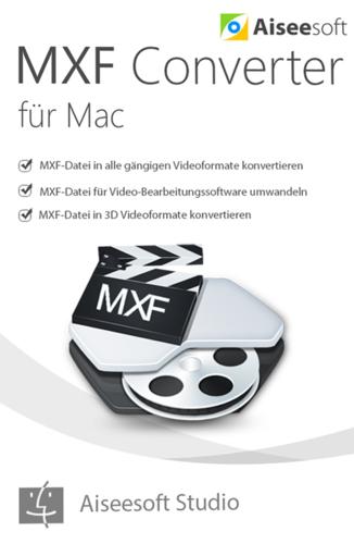 Verpackung von Aiseesoft MXF Converter Mac [Mac-Software]
